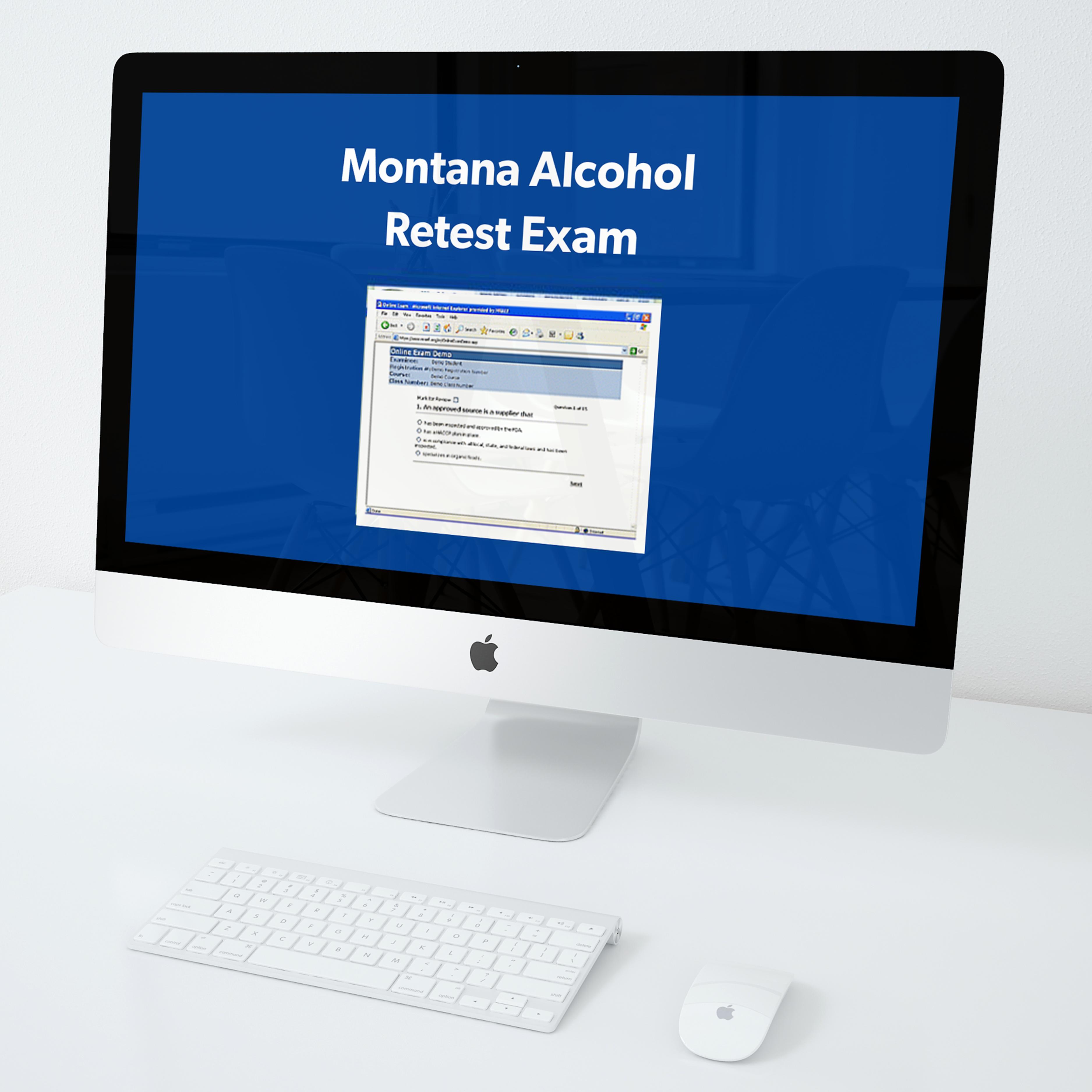 Montana Alcohol Retest Exam Savvy Food Safety Inc