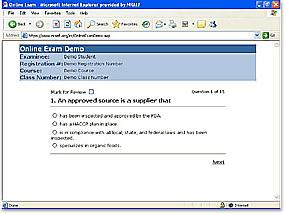 Texas FoodGuard® Certificate Examination