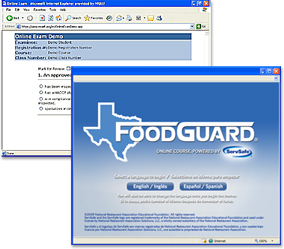 Texas FoodGuard® Online Course and Exam