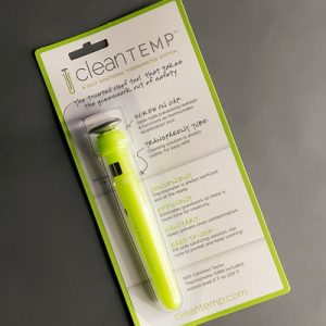cleanTEMP™ Tube w/ Thermometer, on Retail Card