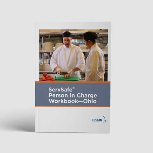 ServSafe® Person In Charge Workbook - Ohio Cover
